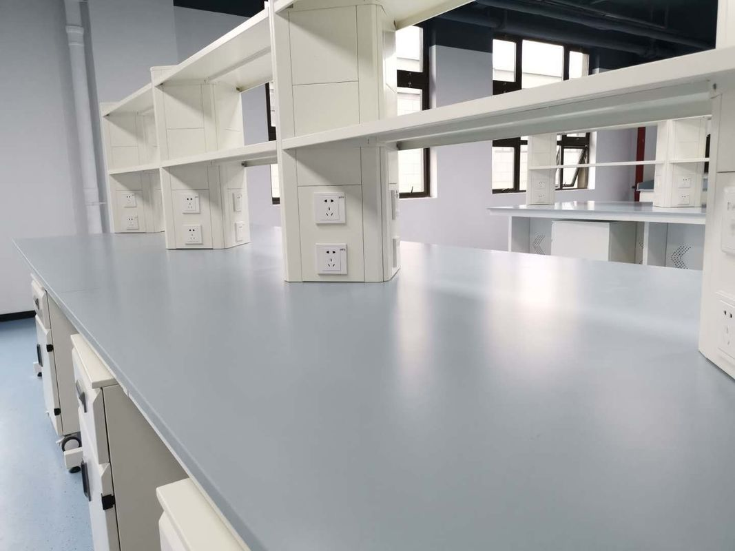 Laboratory Furniture Epoxy Resin Countertops/ Matt Surfaces Resist Chemicals